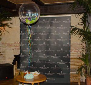 Celebración de cumpleaños Córdoba. Social Eventos globo 2