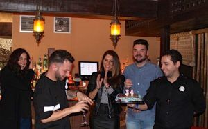 Celebración de cumpleaños Córdoba. Social Eventos tarta 1