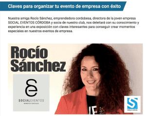 Exposición eventos empresa Sinergia-Rocio Sanchez